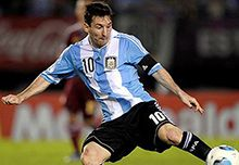 Lionel Messi World Cup Photo