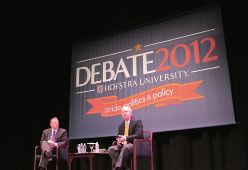 Hofstra Debate Photo