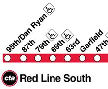 Red Line South Icon