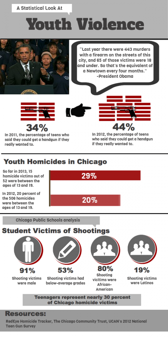 Youth Violence Infographic